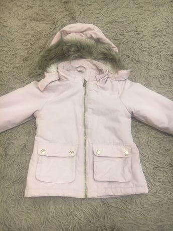 Парка Н/М 92 размер. Куртка для девочки демисезонная