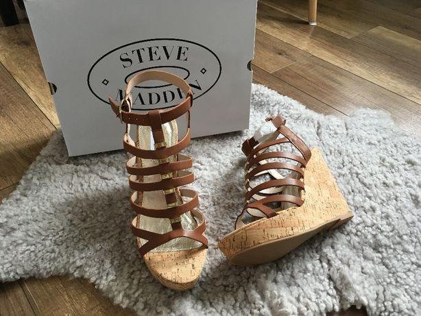 Sandały na koturnie *Steve Madden* nowe r. 40 SUPER CENA
