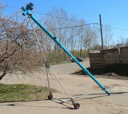 Шнековый погрузчик Ø 133 мм, шнековый транспортер , зернометатель