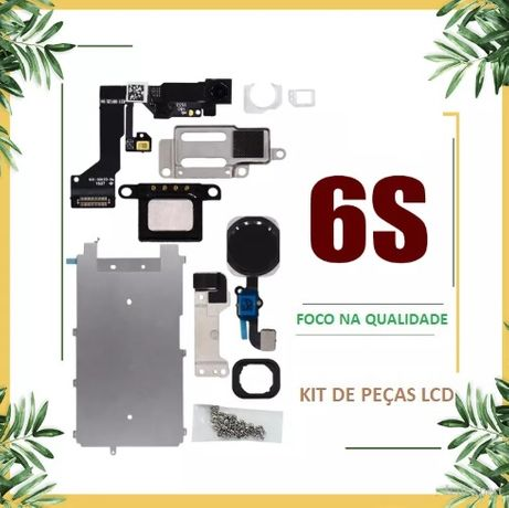 Conjunto / Kit de peças do ecrã / LCD para Iphone 6S