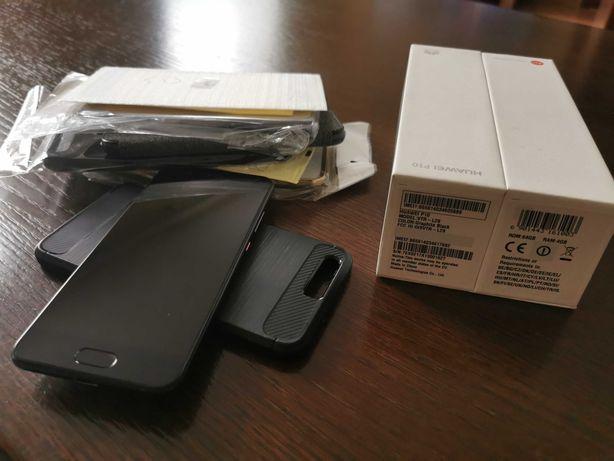 Telefon Huawei P10 czarny 4gb/64gb okazja zestaw