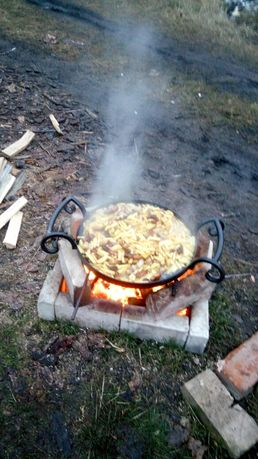 Сковородка з диска борони