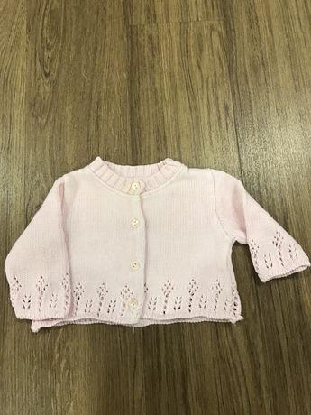 Casaco de algodão menina - Girândola 1 mês