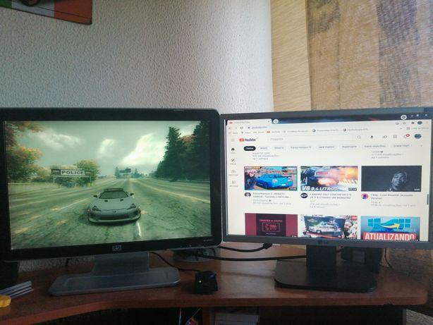 Monitores HP e LG 19''