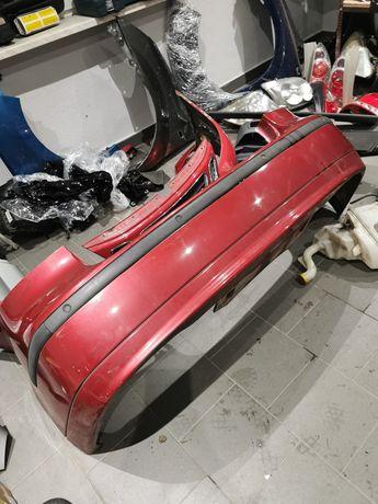Zderzak tył tylny saab 93 9-3 kod lakieru 294 z czujnikami pdc sedan