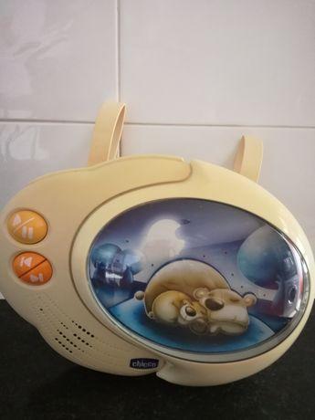 Caixa de música para bebé