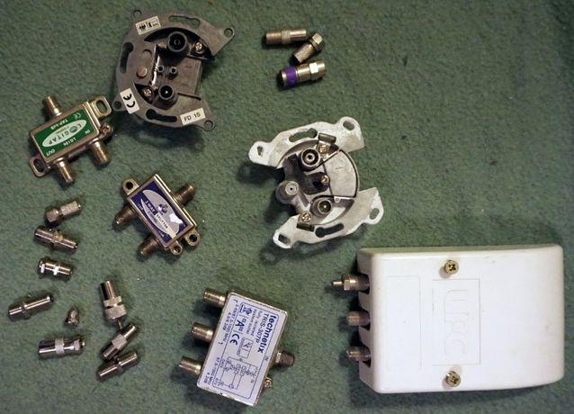 zestaw TECHNETIX LOGITAP UPC złączka splitter rozdzielacz rozgałęziacz