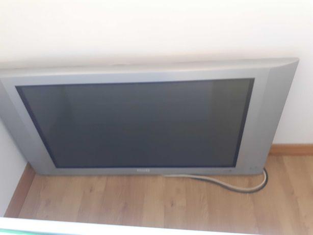 Televisão Plasma Phillips + Receiver