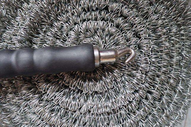 Drut wiązałkowy oczkowy 2500 sztuk plus klucz ZBROJENIA