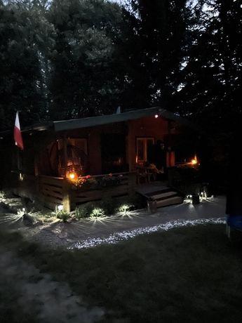 Mazury Domek  działka ze swoim dojściem do jeziora.