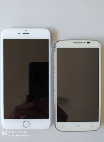 iPhone 6 Plus e Alcatel One Touch Pop C7