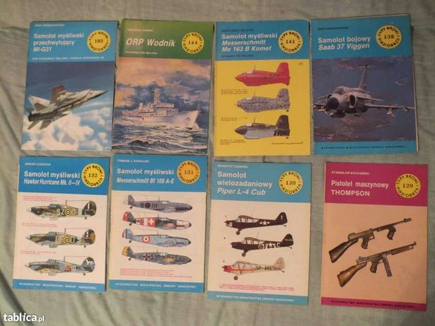 Książki z serii Typy Broni i Uzbrojenia