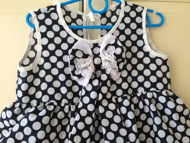 Платье для маленькой модницы раз.110-122