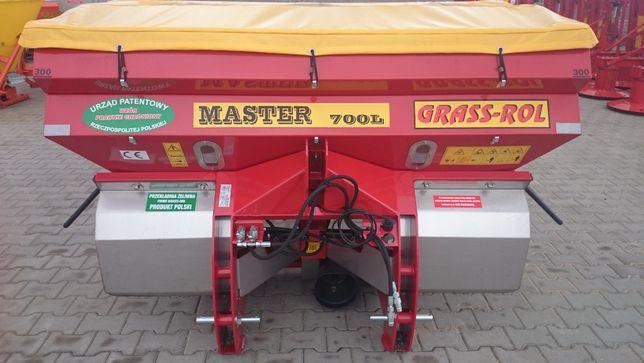 Rozsiewacz dwutarczowy GRASS-ROL MASTER - wysiew 10-36 m