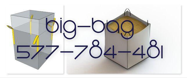 Worki Big Bag rozmiar 90cm do spożywki ładowność 500kg hurt/detal
