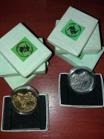 Монеты китайские сувенирные/подарочные