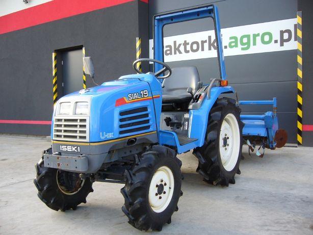 Traktorek , Ciągnik ogrodniczy ISEKI SIAL19, 19 KM, Import z Japonii.