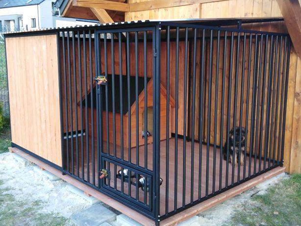 Kojce Klatki Boksy Kojec dla psa 4,5x4,5m
