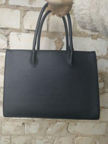 Сумка черная классическая черная сумка