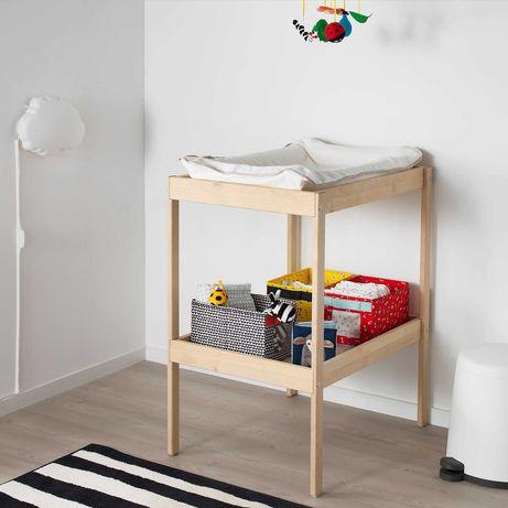 Przewijak Ikea z matą do przewijania z Tk Max