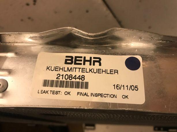Chłodnica woda wody nowa ori Mercedes W124 Behr W 124 oryginał nowy