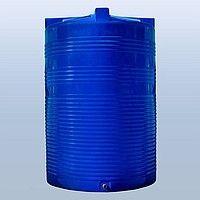 Емкость Бочка Бак 10 кубов для воды (ДТ) вертикальная пластик 10т(м³).