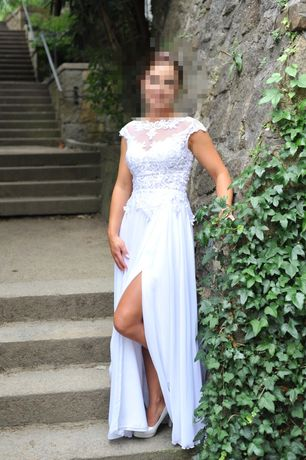 Sukienka ślubna + buty perłowe gratis