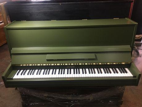 Piano alemao lacado a verde seco muito bonito