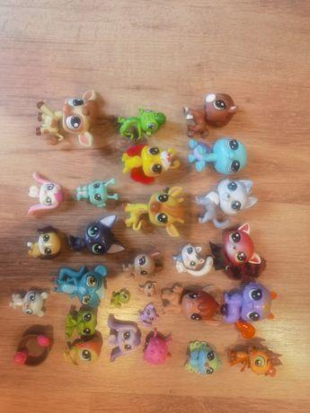Figurki littlest pet shops LPS, zwierzątka