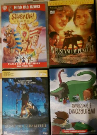 Filmy,bajki DVD 15 szt.