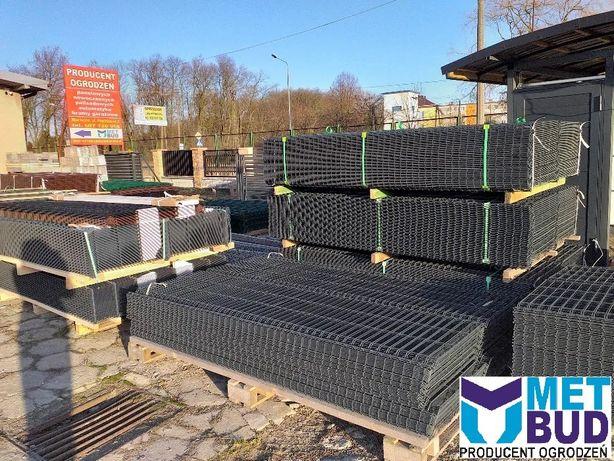 Panele ogrodzeniowe PROMOCJA fi4 mm, podmurówka, słupki