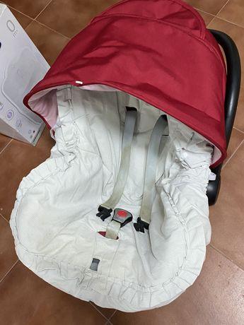 Vendo ovo para transportar bebê e alcofa da marca confort