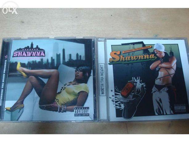 2 Cds da cantora shawnna