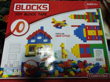 конструктор Блочний Большой 808а - 800дет аналог лего Lego Хит