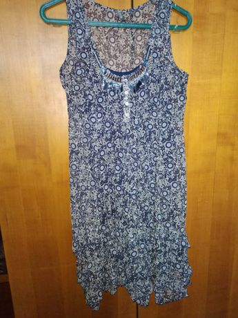 Пакет платьев на  лето 7 штук (S и M)