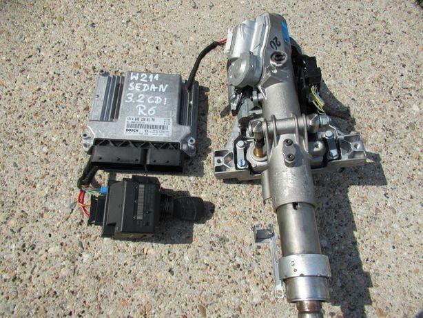 mercedes W211 sedan 3.2 CDI zestaw start do odpalenia