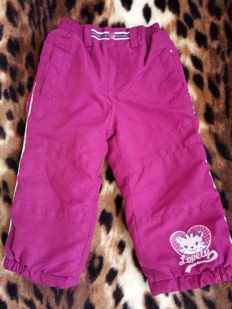 Штаны, штанишки демисезонные на девочку 1,5-2,5 годика .