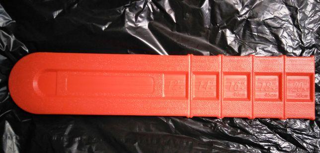 Capa bainha para motossera, proteção da espada corrente