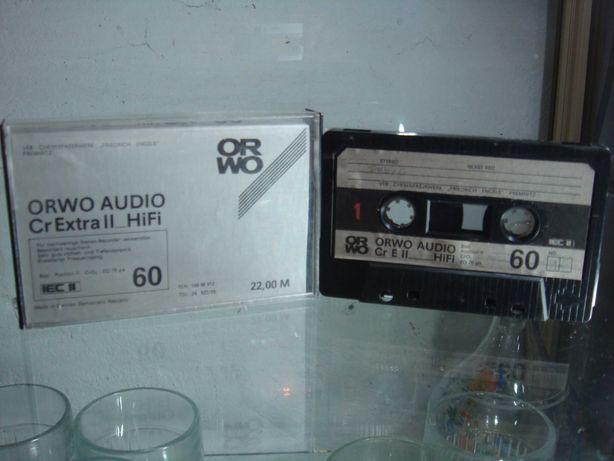 Kaseta magnetofonowa ORWO Cr Extra II C-60 jak nowa