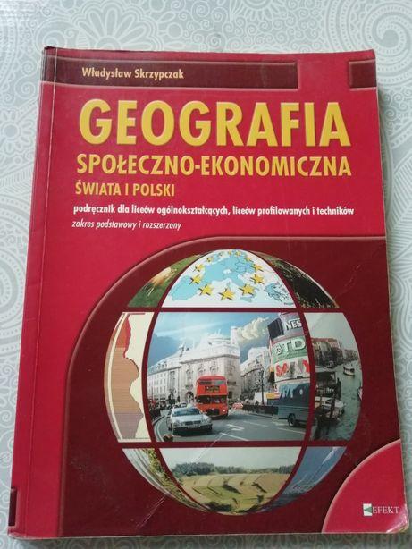 Geografia społeczno - ekonomiczna dla liceum