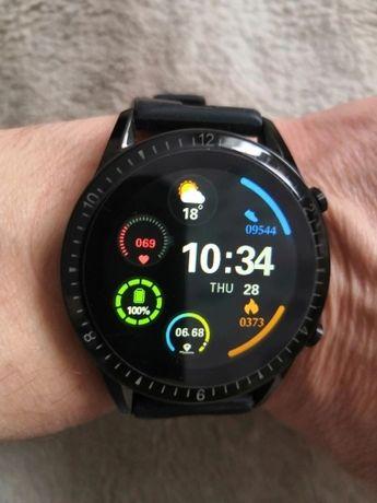 Relógio Smartwatch com chamadas via bluetooth (novo) preto