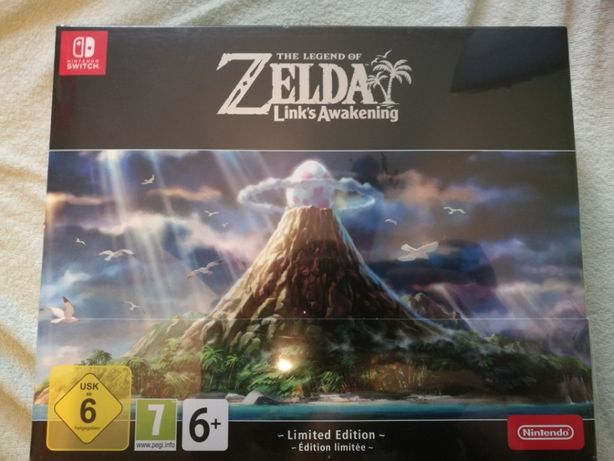 Legend of Zelda Link's Awakening Limited Edition Switch Limitowana