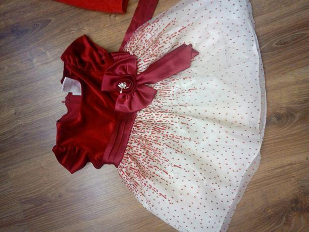 Sukienka dla dziewczynki 80 rozm