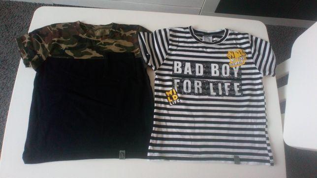 Bluzki ,t-shirty All for kids, paski, moro, rozmiar 104, super jakość