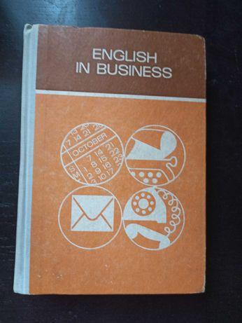 Książka English in Business z 1984