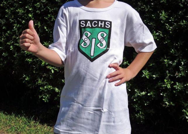 T-shirt SIS Sachs de criança antiga motorizadas motos