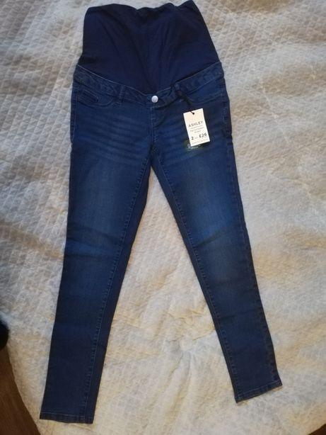 Nowe jeansy ciążowe S spodnie Dorothy Perkins
