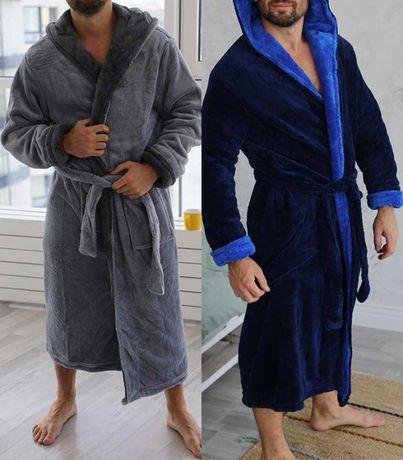 Махровый мужской халат M-5XL Турция