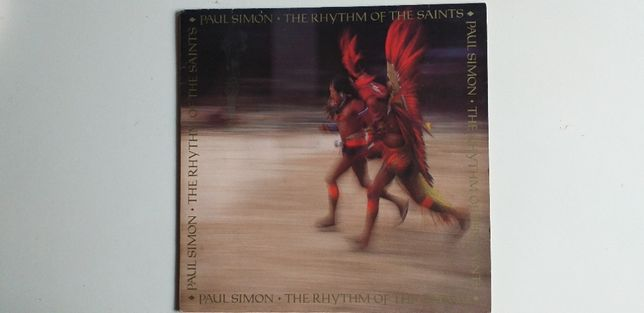 Paul Simon The Rhythm of the Saints Vinil LP
