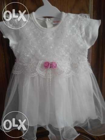 Платье на девочку до 6 месяцев